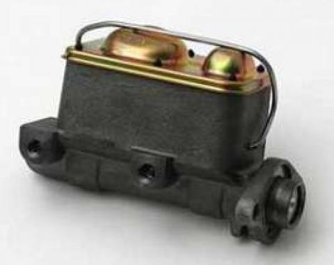 Full Size Chevy Dual Master Cylinder, For Cars With Power Drum Brakes, 1958-1972