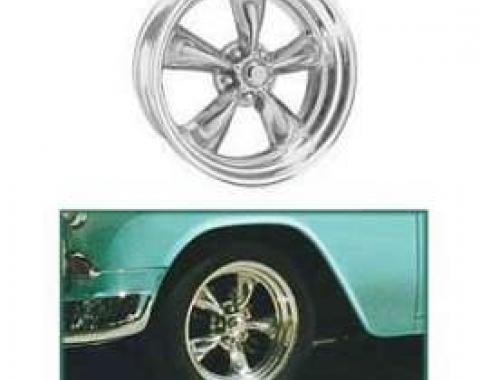 Full Size Chevy Torq-Thrust II Wheel, 17 x 8, American Racing