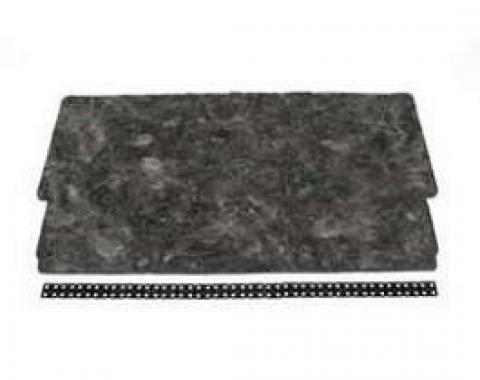 Full Size Chevy Hood Insulation Pad Kit, 1965-1966