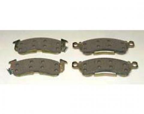 Full Size Chevy Brake Pads, Front Disc, 1958-1972