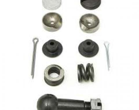 Full Size Chevy Drag Link Repair Kit, Standard Steering, 1958-1962