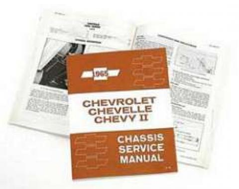 Full Size Chevy Chassis Service Manual, 1965