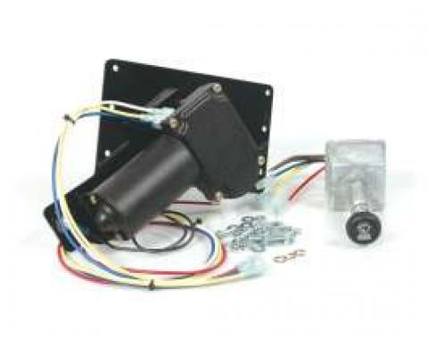Full Size Chevy Electric Wiper Motor, Replacement, 1958
