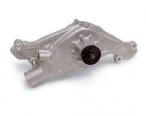 Full Size Chevy Water Pump, 348ci & 409ci, With Cast Finish, Edelbrock,1958-1965
