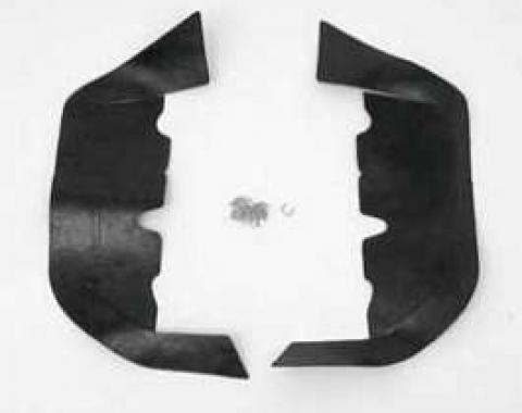 Full Size Chevy Upper Control Arm Dust Shields, 1965