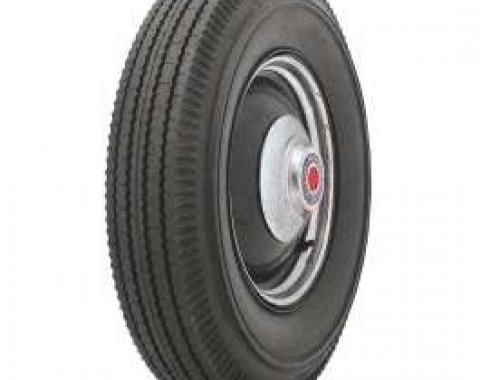 Full Size Chevy Tire, 8.00 x 14, With Blackwall, B.F. Goodrich Bias Ply, 1958-1964