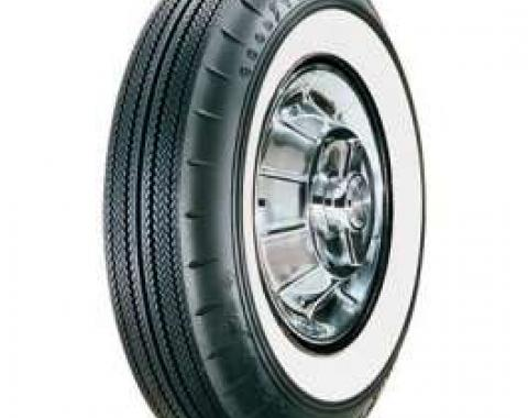 Full Size Chevy Tire, 8.00/14 With 2-1/4 Wide Whitewall, Gooodyear, 1958-1961