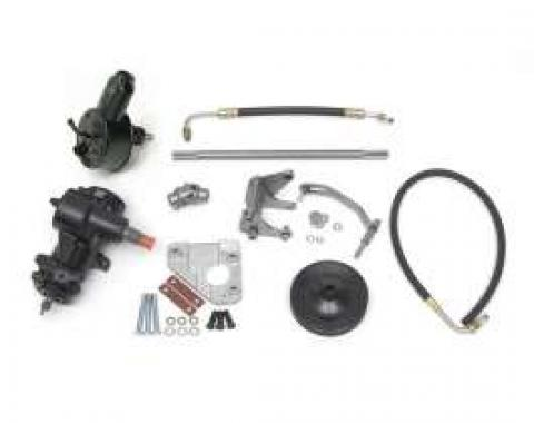 Full Size Chevy 396 & 427 & 454ci Big Block 605 Power Steering ConversionKit, 1958-1964