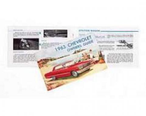 Full Size Chevy Owner's Manual, 1963
