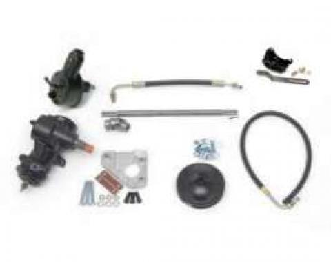 Full Size Chevy Small Block 605 Power Steering Conversion Kit, 1958-1964