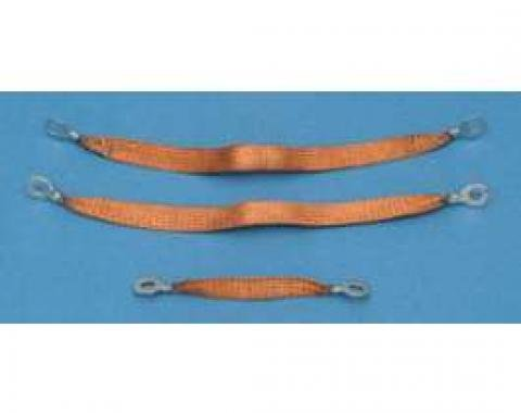 Full Size Chevy Ground Wire Strap Kit, 283ci & 348ci, 1960