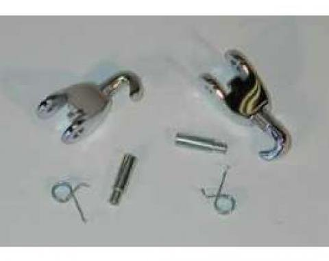 Full Size Chevy Convertible Top Latch Hook & Knuckle Set, 1967-1972