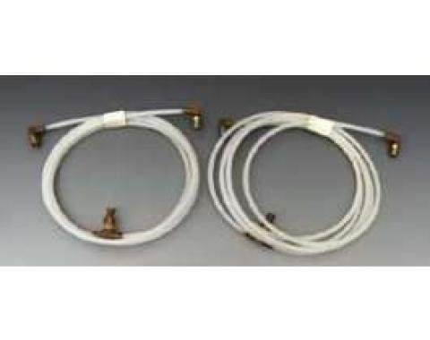 Full Size Chevy Convertible Top Hose Set, 1962-1970