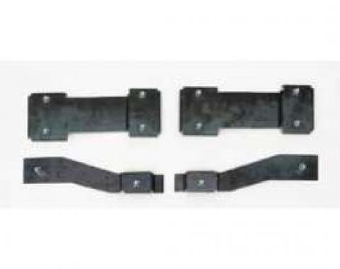 Full Size Chevy Bucket Seat Mounting Brackets, 1965