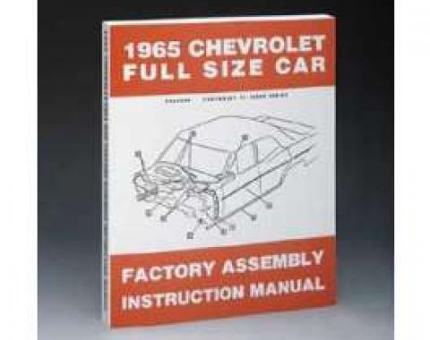 Full Size Chevy Factory Assembly Manual, 1965