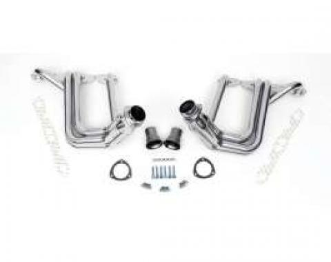 Full Size Chevy Headers, Small Block, Ceramic Coated, Hedman, 1958-1964