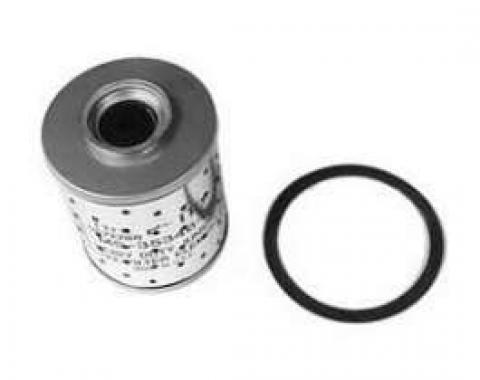 Full Size Chevy Oil Filter Element, 6-Cylinder, 1958-1962