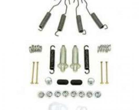 Full Size Chevy Brake Hardware Kit, Front, 1959-1962