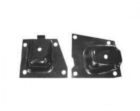 Full Size Chevy Engine Frame Mounts, 6-Cylinder, 1963-1964