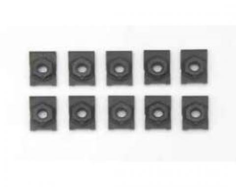 Full Size Chevy Cage Nut Kit, 5/16, 1958-1964