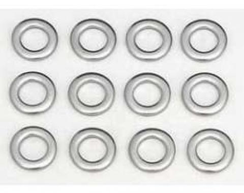 Full Size Chevy Exhaust Manifold Washer Set, Small Block, 1958-1972
