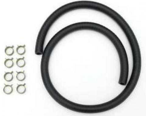 Full Size Chevy Fuel Line Kit, With Clamps, 3/8, 1958-1964