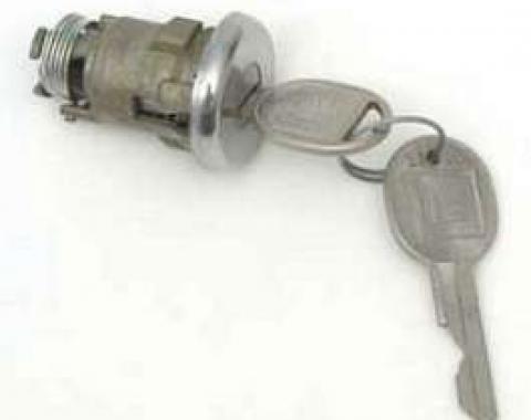 Full Size Chevy Trunk Lock, 1958, 1960-1970