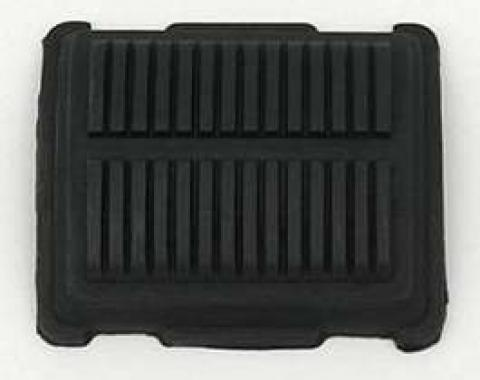 Full Size Chevy Emergency & Parking Brake Pedal Pad, Deluxe Interior, Impala, 1965-1970