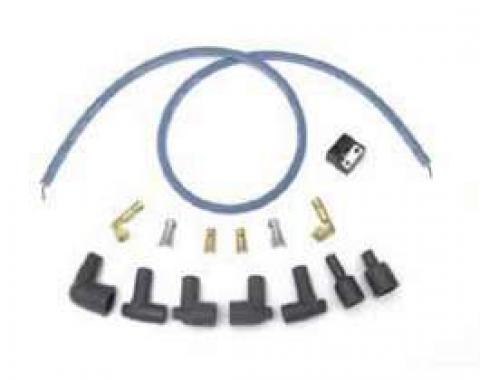 Full Size Chevy Coil Wiring Kit, For HEI Distributor Remote Coil, 1958-1972