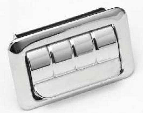 Full Size Chevy Ashtray Assembly, Rear Quarter, Bel Air & Biscayne, 2-Door Sedan, 1969