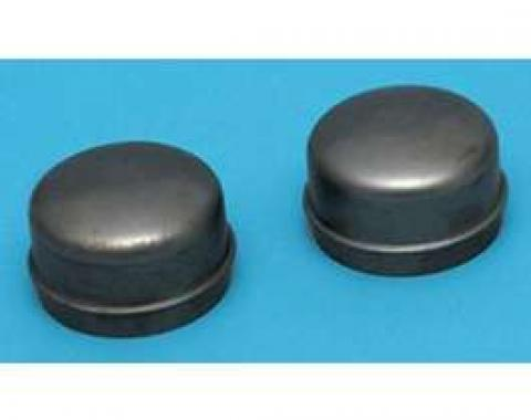 Full Size Chevy Hub Dust & Grease Caps, Front, Correct Style, 1958-1960