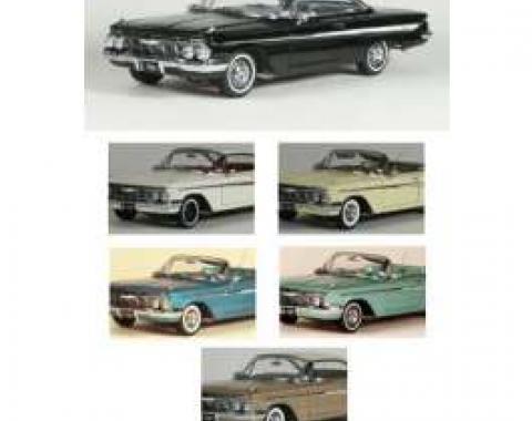 Chevy Die-Cast Model, 2-Door Hardtop Or Convertible, 1961