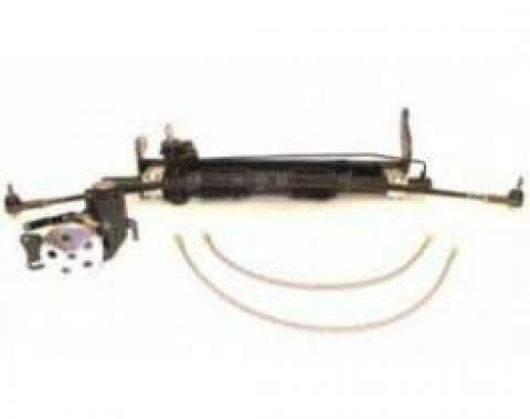 Full Size Chevy Rack & Pinion Steering, Small Block, V8, For Cars With ididit Steering Column, 1958-1964