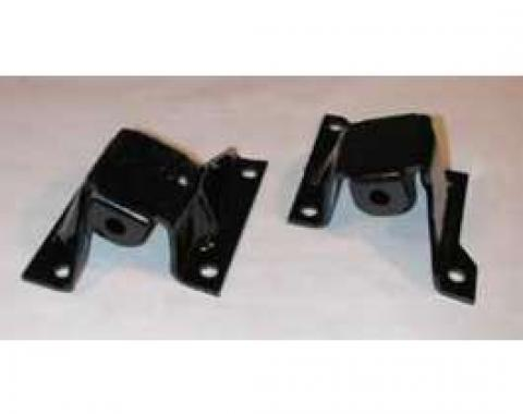 Full Size Chevy Engine Frame Side Mounts, V8, 1958-1964