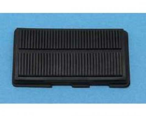 Full Size Chevy Drum Brake Pedal Pad, For Cars With Automatic Transmission, 1965-1970