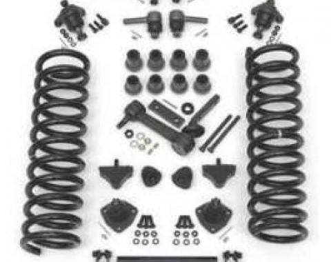Full Size Chevy Front End Suspension Rebuild Kit, With Standard Coil Springs, 1961-1964