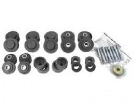 Full Size Chevy Body Mounting Set, Convertible, 1967-1968