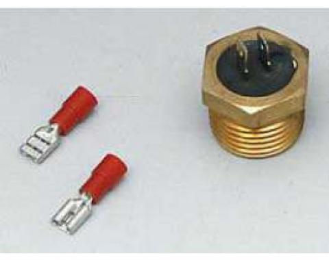 Full Size Chevy Electric Cooling Fan Temperature Sending Switch, Pro-Lite, 1958-1972