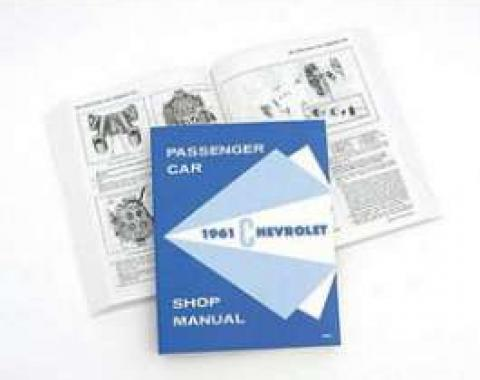Full Size Chevy Shop Manual, 1961