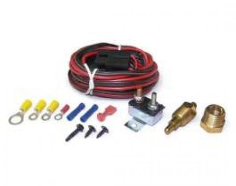 Full Size Chevy Electric Fan Relay & Thermostat Kit