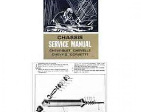 Full Size Chevy Chassis Service Manual, 1966
