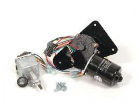 Full Size Chevy Electric Wiper Motor, Replacement, 1963-1964