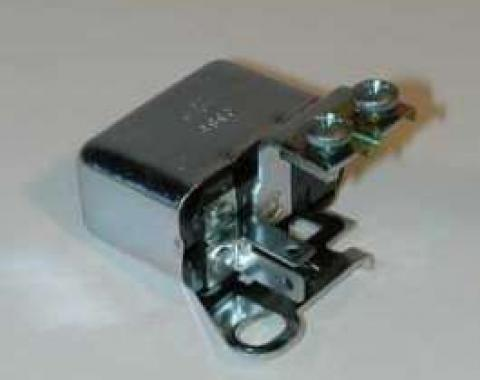 Full Size Chevy Horn Relay, For Alternator Conversion, 1958-1962