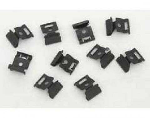 Full Size Chevy Windshield Molding Clip Set, 1961-1964