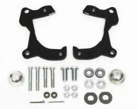 Full Size Chevy Front Disc Brake Brackets, With Hardware, 1959-1964