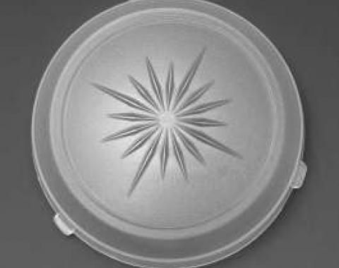 Full Size Chevy Dome Light Lens, Impala & Caprice, Except Convertible, 1971-1972