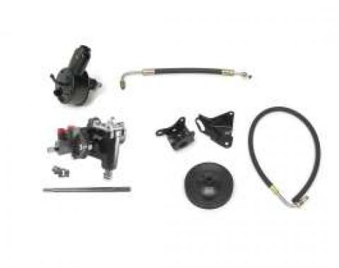 Full Size Chevy Power Steering Conversion Kit, For Cars With 348 & 409ci Engine, Delphi 600, Borgeson, 1960-1964