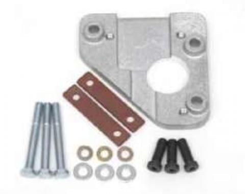 Full Size Chevy 605 Style Steering Box Mounting Bracket Kit, 1958-1964
