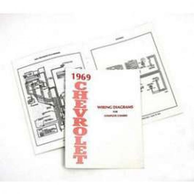 Full Size Chevy Wiring Harness Diagram Manual  1969