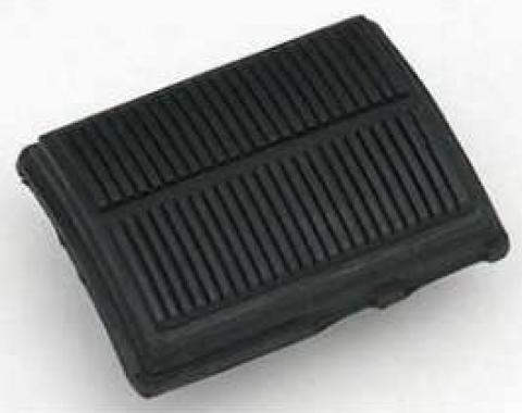Full Size Chevy Brake Or Clutch Pedal Pad, Standard Transmission, Deluxe Interior, 1965-1970
